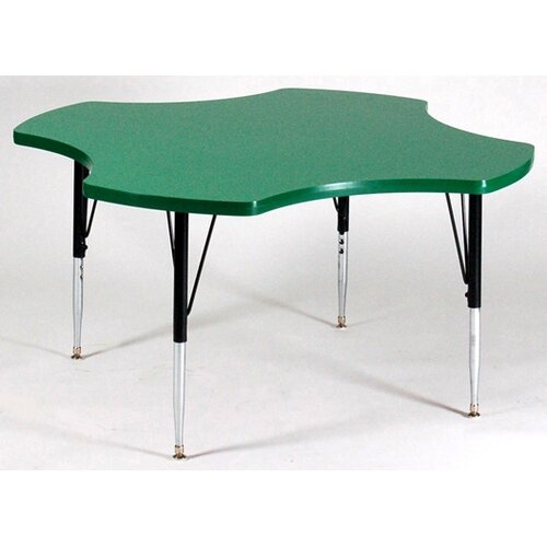 Correll, Inc. Flower Activity Table with Grey Granite Top