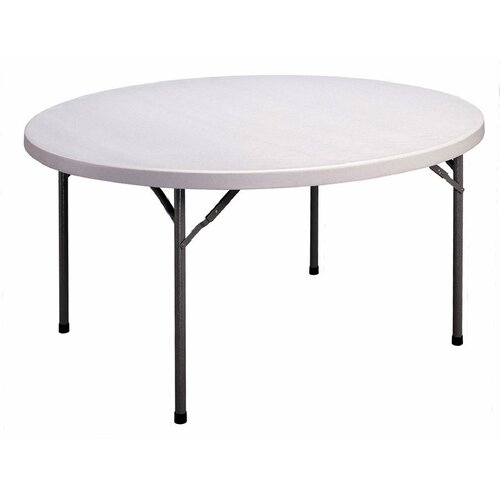 "Correll, Inc. 60"" Round Folding Table"
