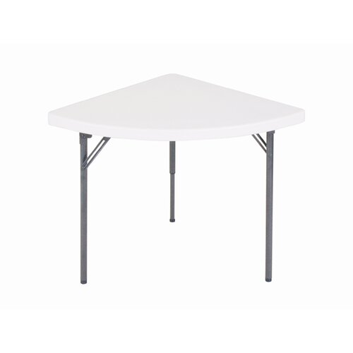 "Correll, Inc. 30"" Semi Circle Folding Table"