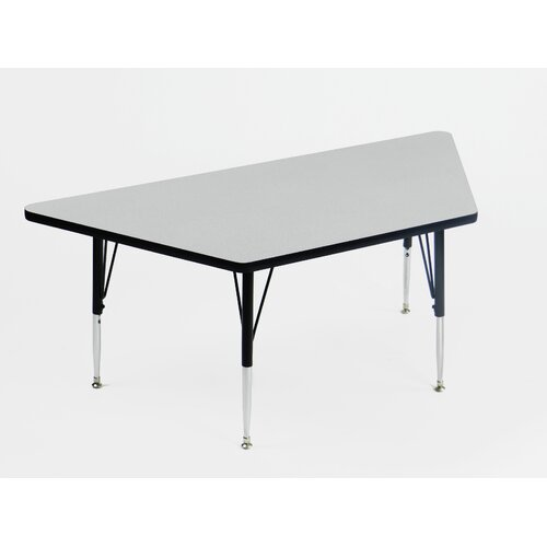 Correll, Inc. Econoline Melamine Trapezoid Activity Table