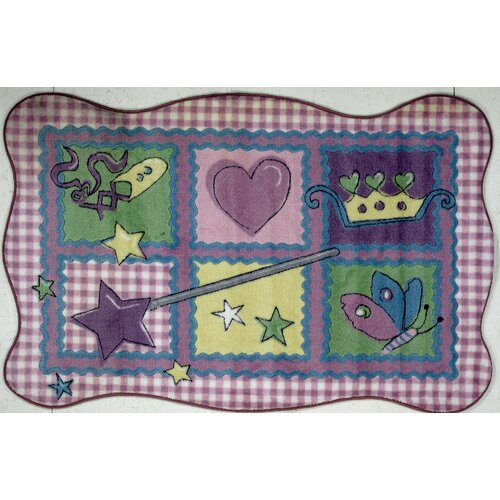 Fun Rugs Supreme Fairy Quilt Kids Rug