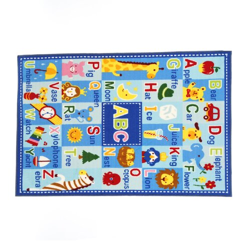 Fun Rugs Fun Time Letters and Names Area Rug