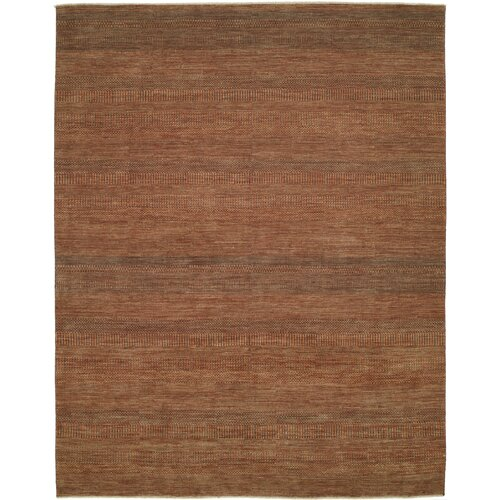 Shalom Brothers Illusions Rust/Dark Green Area Rug