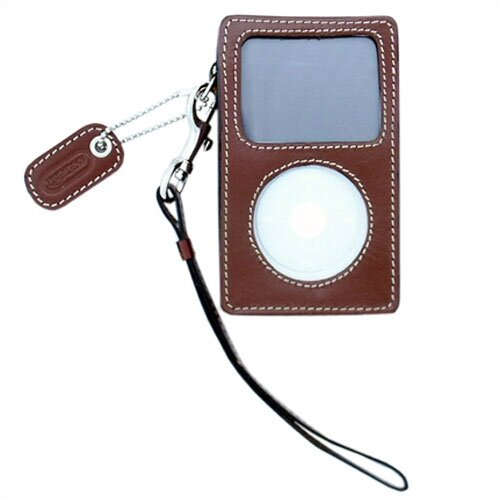 Leatherbay iPod Video Case in Antique Tan