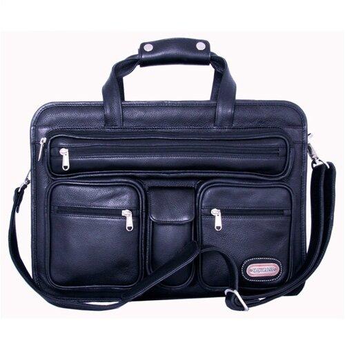 Cambridge Leather Laptop Briefcase