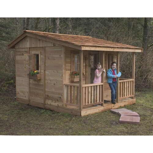 Outdoor Living Today Cozy Cabin with 4 Functional Windows
