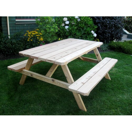Outdoor Living Today Cedar Picnic Table