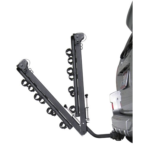 Heininger Holdings LLC Advantage SportsRack Tiltaway Four Bike Rack Carrier