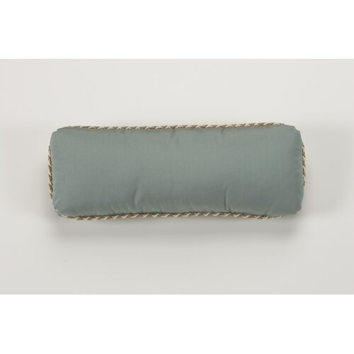 Throw Bolster Pillow with Cord Welt