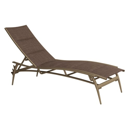 Echo Padded Sling Chaise Lounge