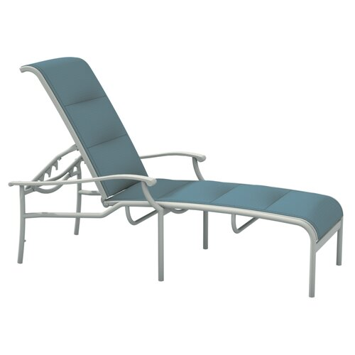 Sorrento Padded Sling Chaise Lounge