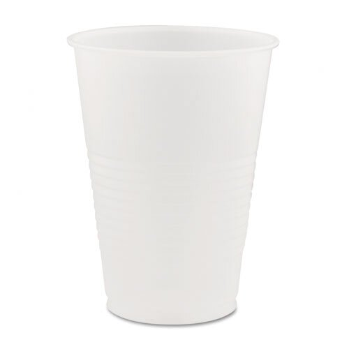 DART® Conex Translucent Plastic 14 oz. Cold Cup