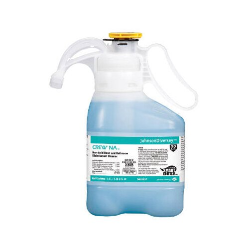 DIVERSEY™ 47.3 Oz Floral Scent Crew Non-Acid Bowl and Bathroom Disinfectant Cleaner