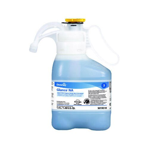 DIVERSEY™ 47.3 Oz. Bottle Liquid Glance Non-Ammoniated Glass and Multi-Surface Cleaner