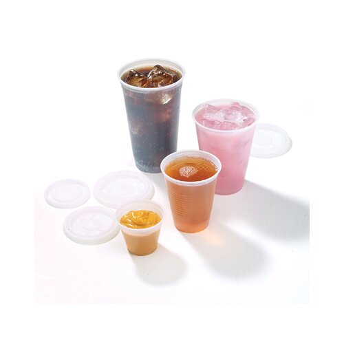 FABRI-KAL® 7 Oz Drink Cups in Clear
