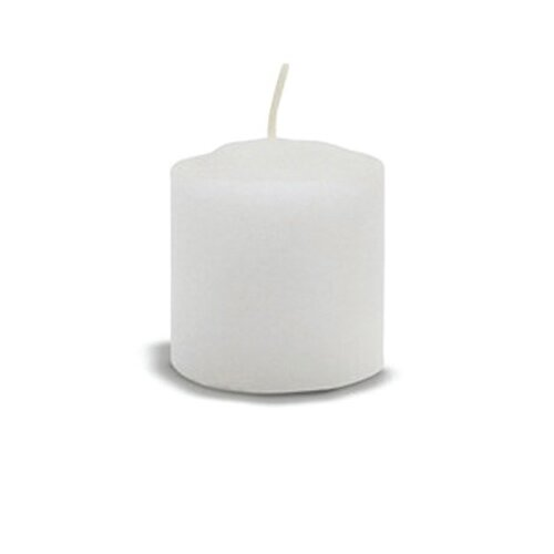 FANCY HEAT Pure Stearin Votive Candles (Set of 72)