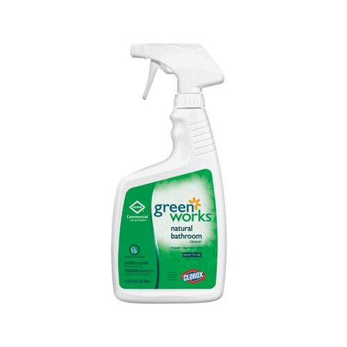 GREENWORKS ® 24 Oz Natural Bathroom Cleaner Bottle