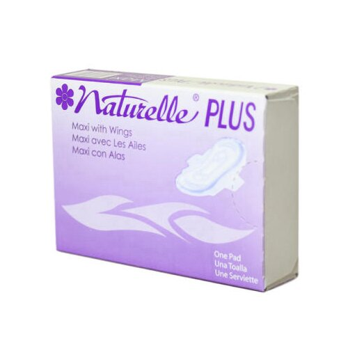 NATURELLE® Plus Maxi Pads with Wings