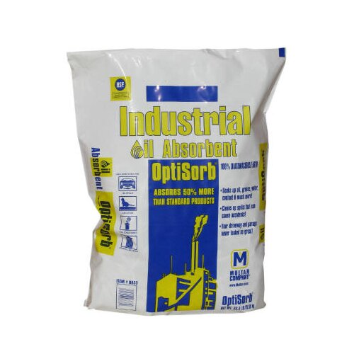 OptiSorb® 33 Pounds Industrial Sorbent - Mineral Earth Particulates