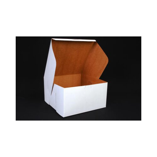 """SCT® 5.5"""" x 10"""" Tuck-Top Bakery Boxes in White"""