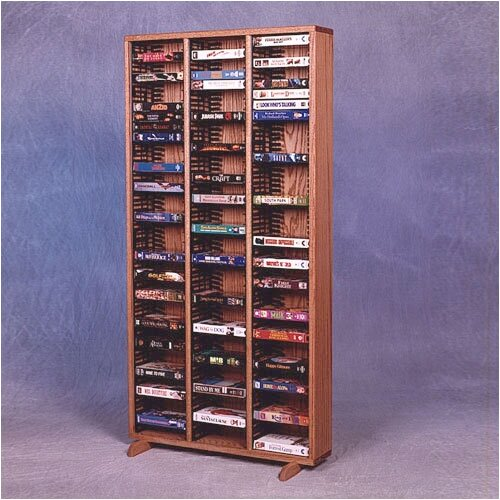 300 Series 120 VHS Multimedia Storage Rack