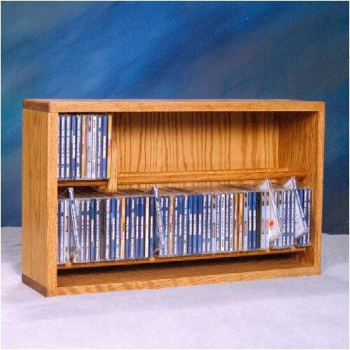 200 Series 110 CD Multimedia Tabletop Storage Rack