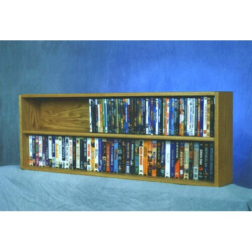 Wood Shed 200 Series 176 DVD Multimedia Tabletop Storage Rack