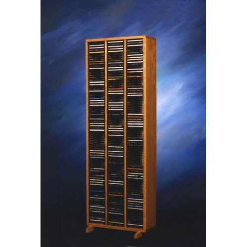 300 Series 240 CD Multimedia Storage Rack