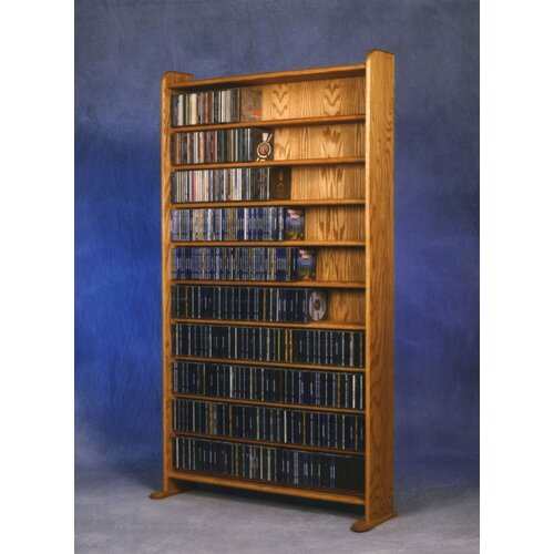 Wood Shed 1000 Series 830 CD Multimedia Storage Rack