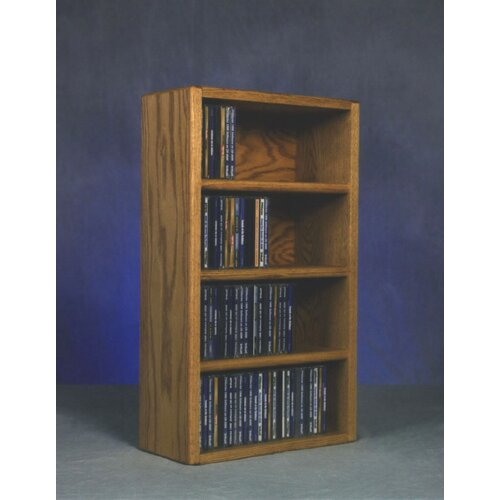 400 Series 104 CD Wall Mounted Multimedia Storage Rack