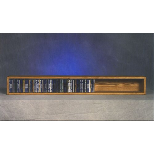 100 Series 118 CD Multimedia Tabletop Storage Rack