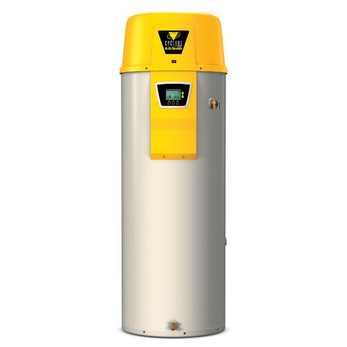 Commercial Tank Type Water Heater Nat Gas 50 Gal Cyclone Xi 100,000 BTU Input High ...