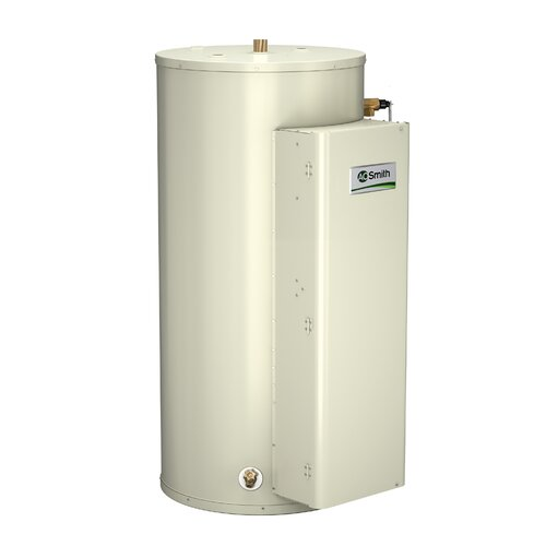 A.O. Smith DRE-52-24 Commercial Tank Type Water Heater Electric 52 Gal Gold Series 24KW Input