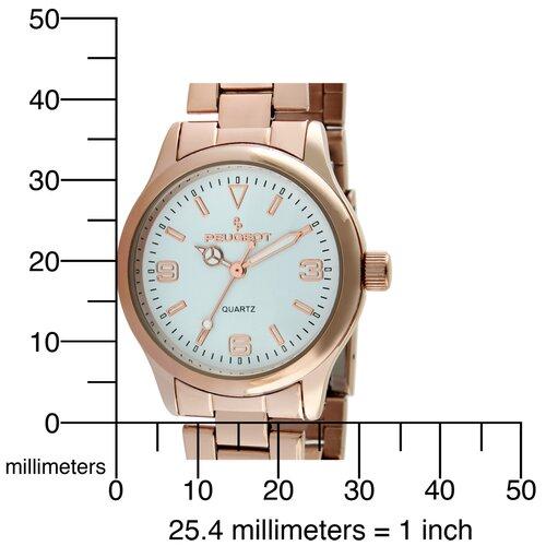 Peugeot Women's Bracelet Watch in Rose Gold