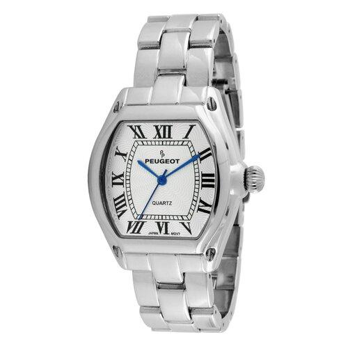 Women's Roman Numeral Bracelet Watch in Silver Tone