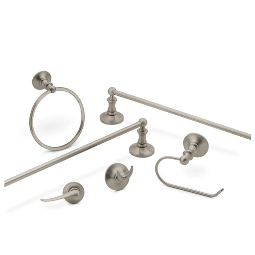 "Creative Specialties by Moen Danbury 20.38"" Wall Mounted Towel Bar"