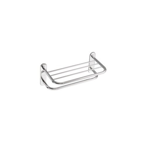 "Creative Specialties by Moen Hotel Motel 26.5"" Towel Bar with Shelf"