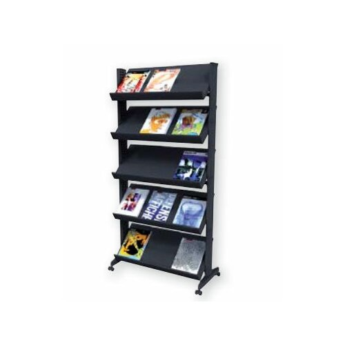 Paperflow 5 Pocket X-Large Single Sided Literature Display