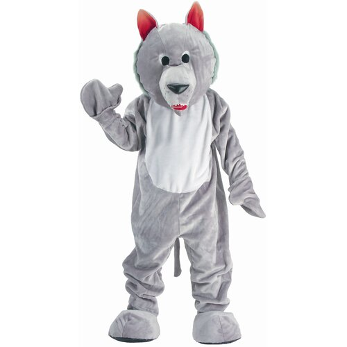 Dress Up America Hungry Wolf Mascot Children's Costume Set