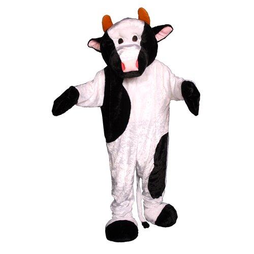 Dress Up America Cow Mascot