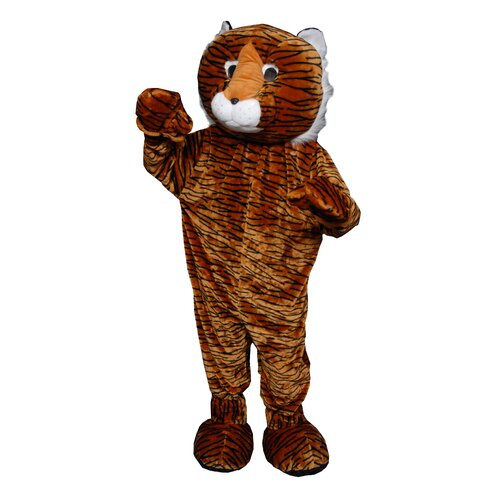 Dress Up America Tiger Mascot