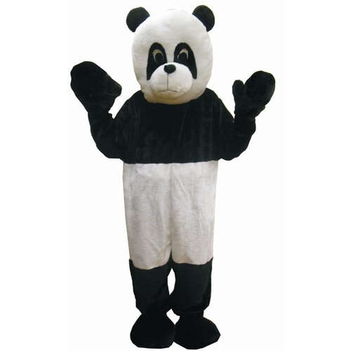 Dress Up America Panda Mascot Kids Costume Set