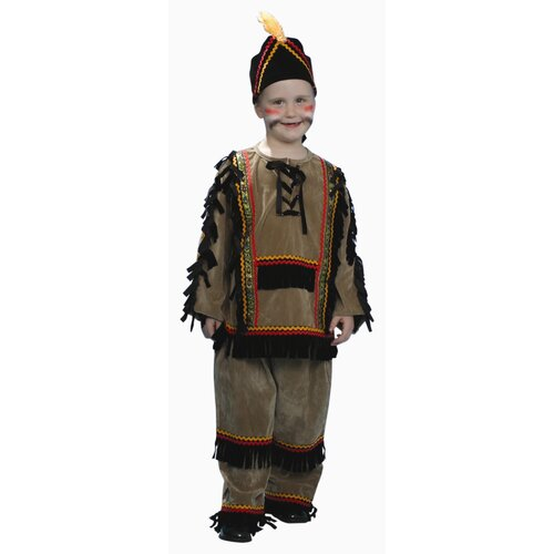 Dress Up America Deluxe Indian Boy Children's Costume Set