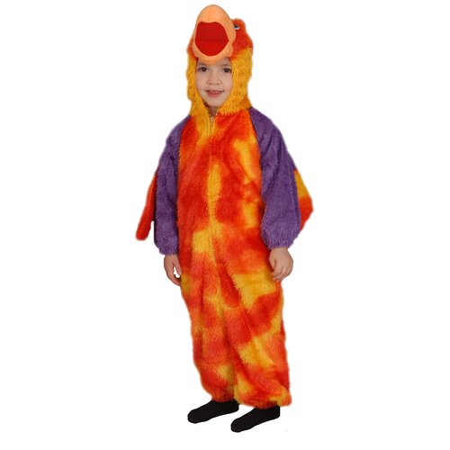 Dress Up America Loud Little Parrot Children's Costume Set