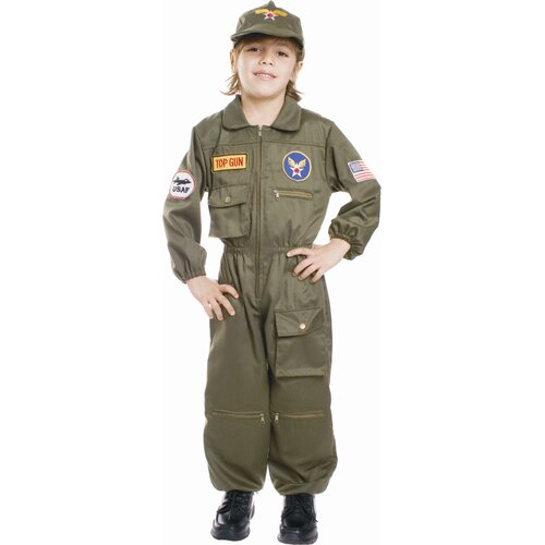Air Force Pilot Children's Costume