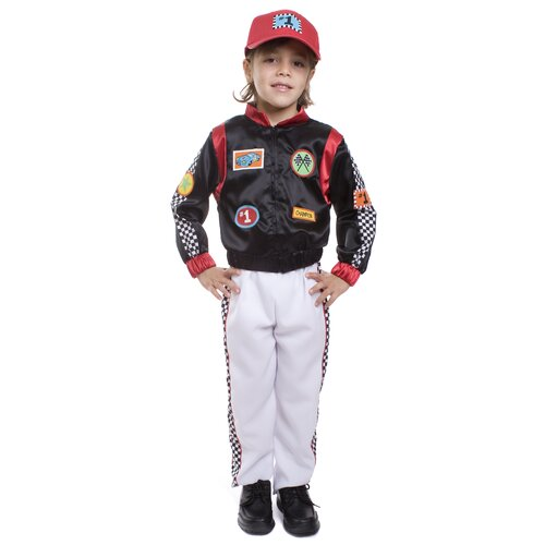 Dress Up America Race Car Driver Children's Costume