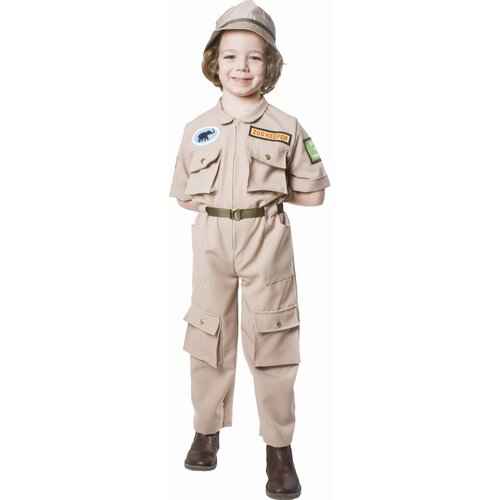 Zoo Keeper Children's Costume