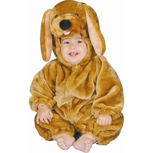 Dress Up America Brown Puppy Plush Baby's Costume