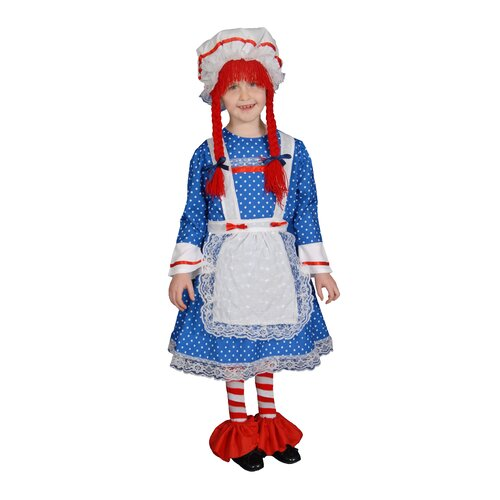 Rag Doll Children's Costume Set
