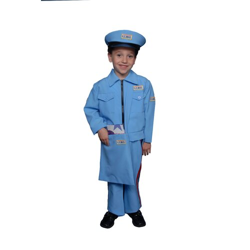 Mail Carrier Children's Costume Set